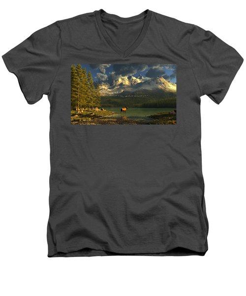 A Small Planet Men's V-Neck T-Shirt