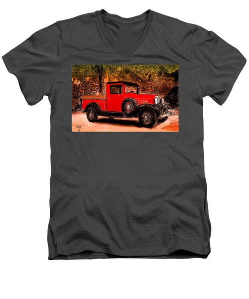 A Southern Ford Men's V-Neck T-Shirt