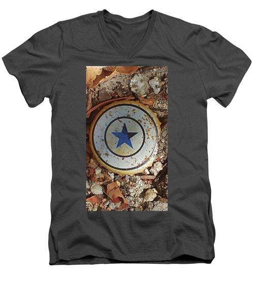 A Star Is Still A Star Even If It's Rusty Men's V-Neck T-Shirt