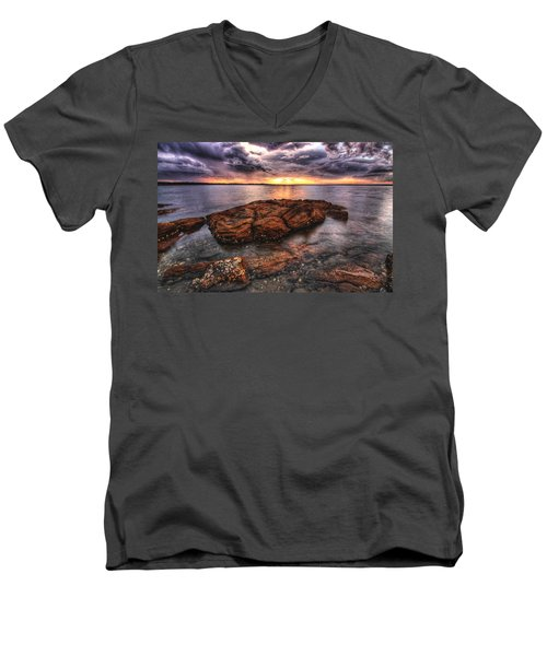 A Storm Is Brewing Men's V-Neck T-Shirt
