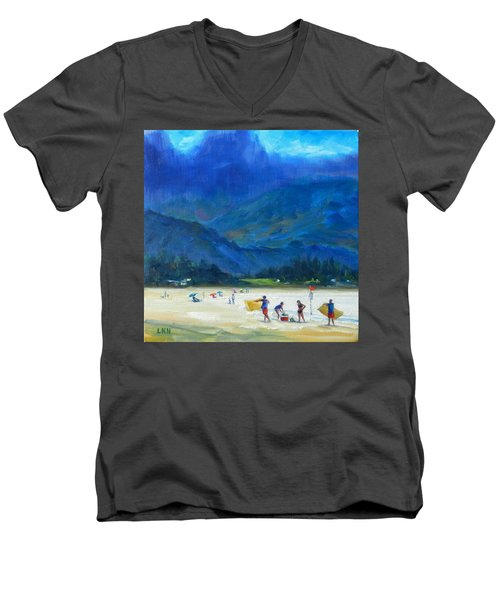 A Summer Day Men's V-Neck T-Shirt