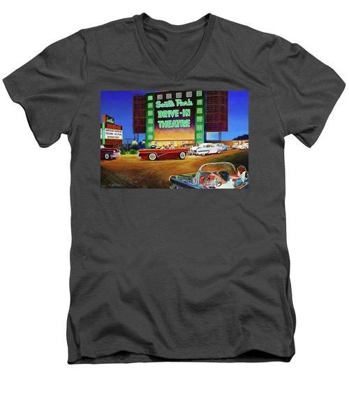 A Summer Remembered Men's V-Neck T-Shirt
