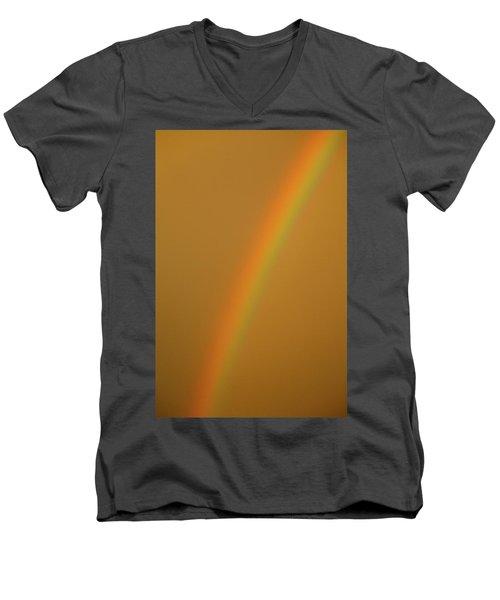 A Sunset Rainbow Men's V-Neck T-Shirt