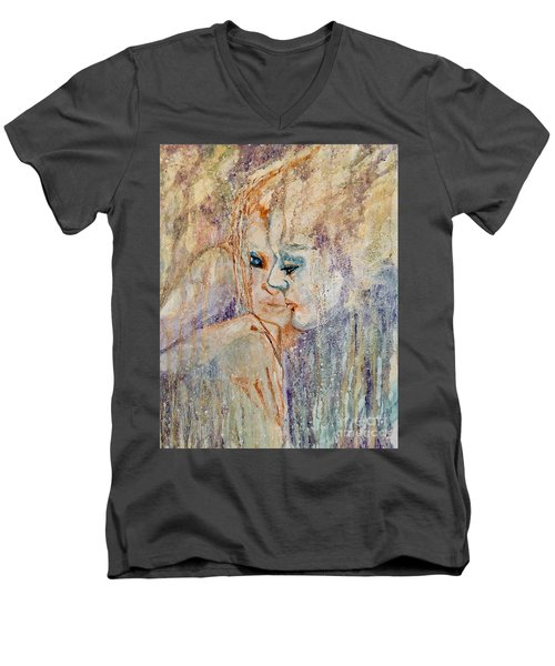 A Tender Moment Men's V-Neck T-Shirt