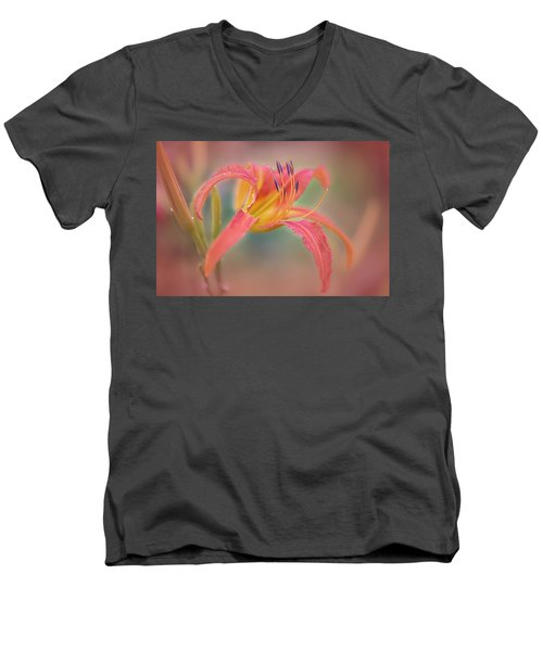 A Thing Of Beauty Lasts Only For A Day. Men's V-Neck T-Shirt