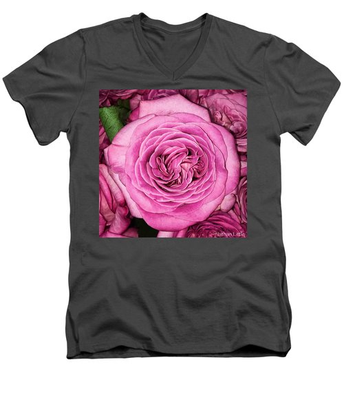 A Thousand Petals Men's V-Neck T-Shirt
