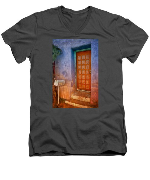 A Tucson Stoop Men's V-Neck T-Shirt