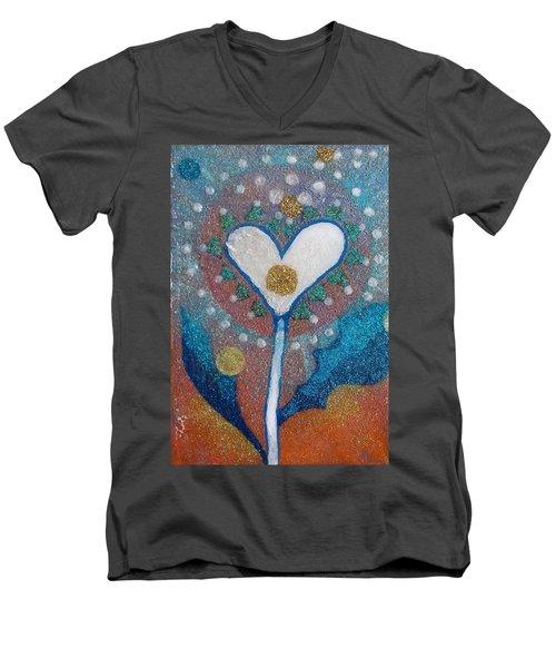 A Type Of Dandelion Men's V-Neck T-Shirt