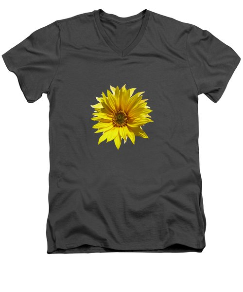 A Vase Of Sunflowers Men's V-Neck T-Shirt