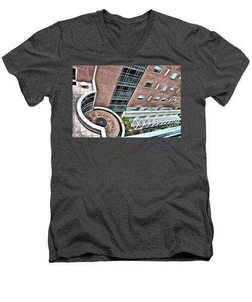 A Veiw From Above Men's V-Neck T-Shirt