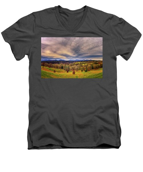 A View From The Biltmore Men's V-Neck T-Shirt
