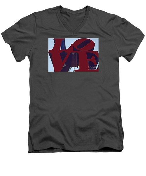 A View Of Bill Penn Men's V-Neck T-Shirt