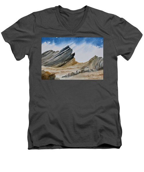 A Walk In The Desert Men's V-Neck T-Shirt