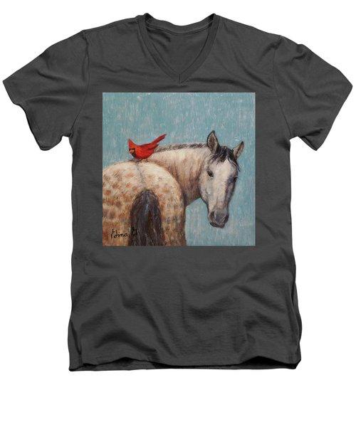 A Warm Ride Men's V-Neck T-Shirt