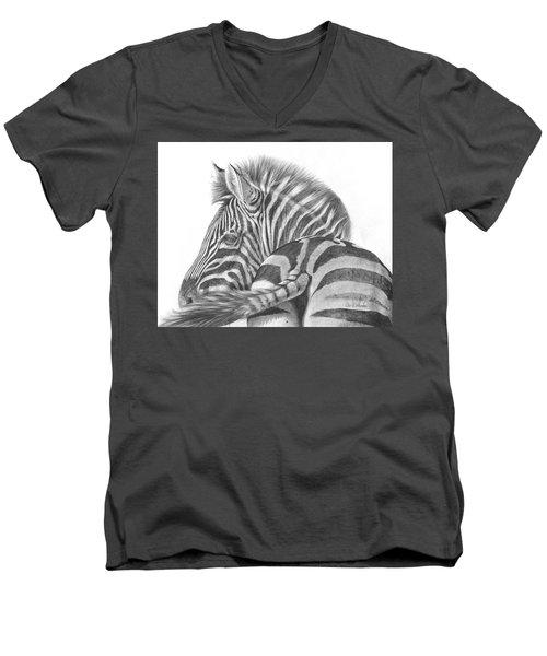 A Watchful Eye Men's V-Neck T-Shirt