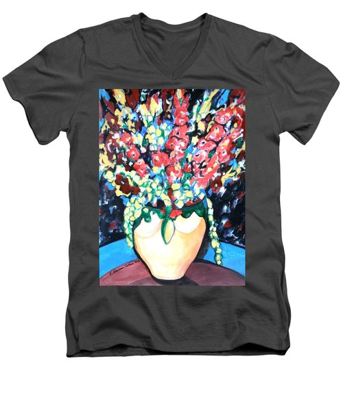 A Welcoming Bouquet Men's V-Neck T-Shirt