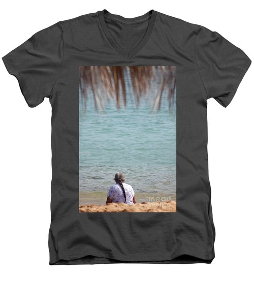 A Window With A View Men's V-Neck T-Shirt