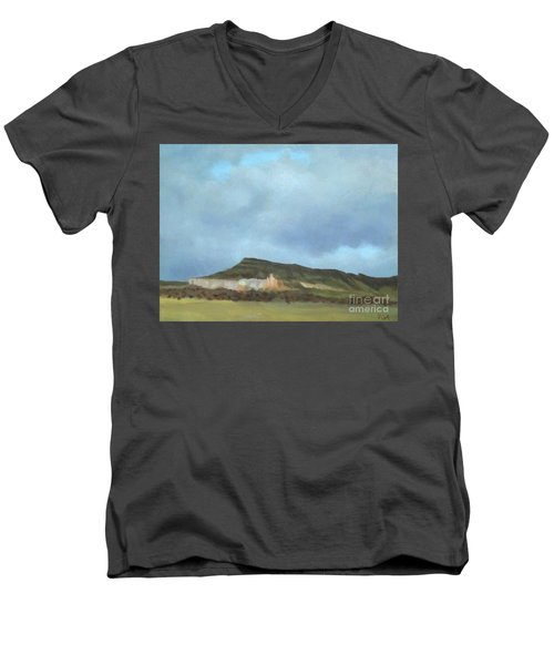 A Wintry Day In Abiquiu Men's V-Neck T-Shirt