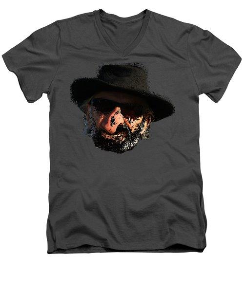 Aargh Men's V-Neck T-Shirt by David and Lynn Keller
