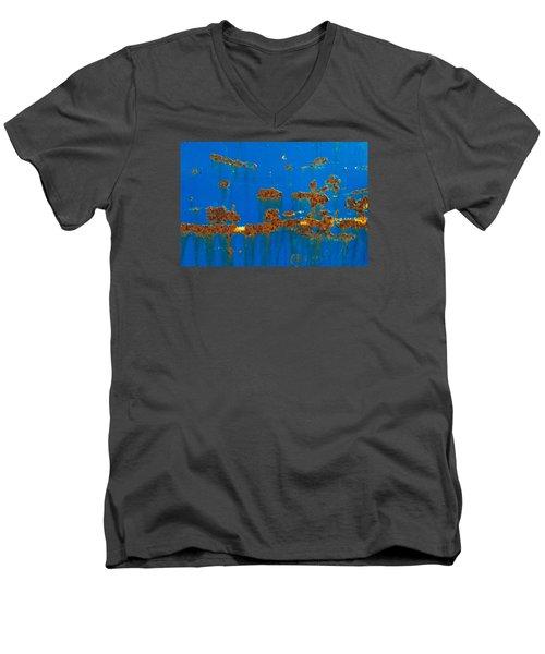 Ab1  Men's V-Neck T-Shirt by Catherine Lau