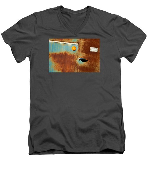 ab3 Men's V-Neck T-Shirt by Catherine Lau
