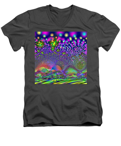 Abanalyzed Men's V-Neck T-Shirt