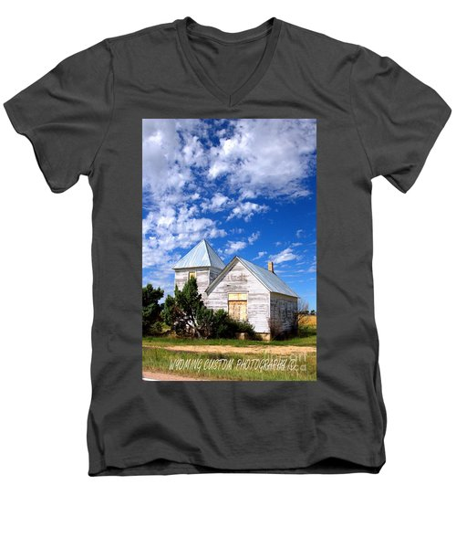 Abandoned Building Men's V-Neck T-Shirt