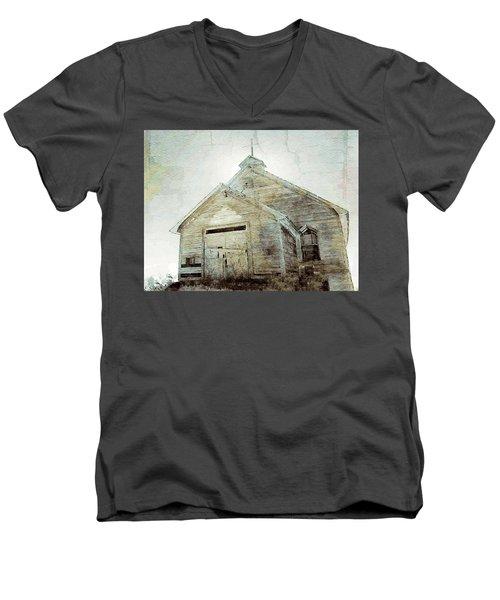 Abandoned Church 1 Men's V-Neck T-Shirt
