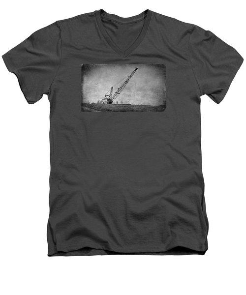 Abandoned Dragline Men's V-Neck T-Shirt
