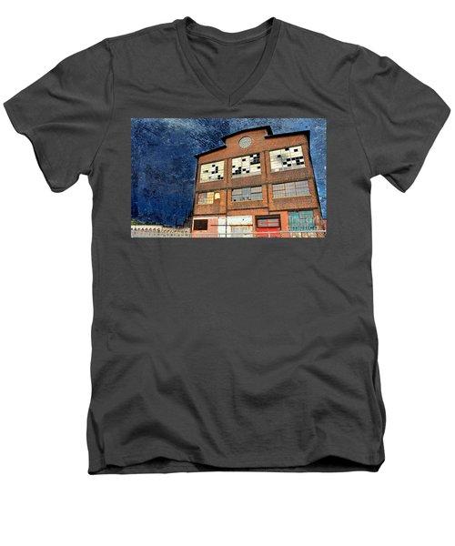 Abandoned Industrial Men's V-Neck T-Shirt