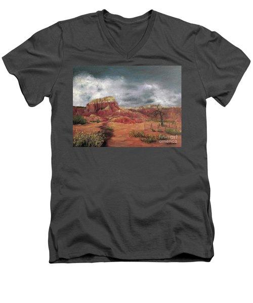 Abandoned  Ranch Men's V-Neck T-Shirt