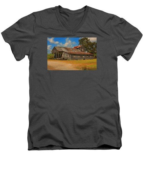 Abandoned Store Men's V-Neck T-Shirt