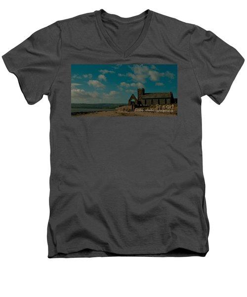 Abbeyside Church Men's V-Neck T-Shirt