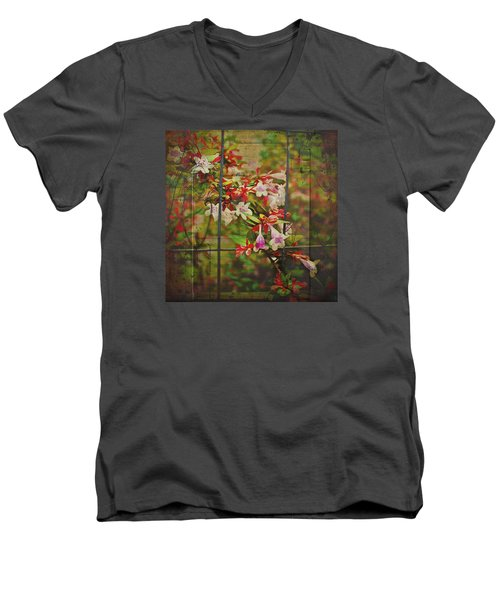 Abelia Coming Through Men's V-Neck T-Shirt