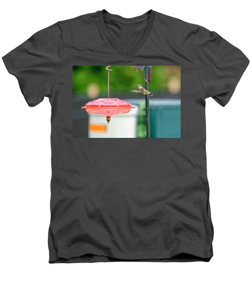About To Land Men's V-Neck T-Shirt