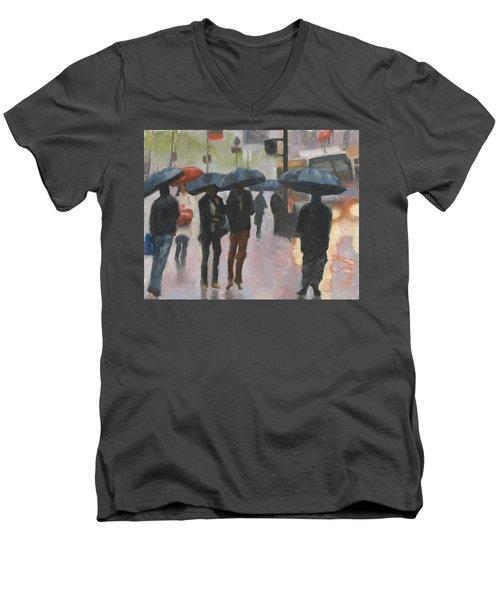 About Town Men's V-Neck T-Shirt