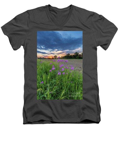 Above It All Men's V-Neck T-Shirt