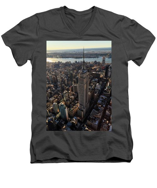 Above It All  Men's V-Neck T-Shirt