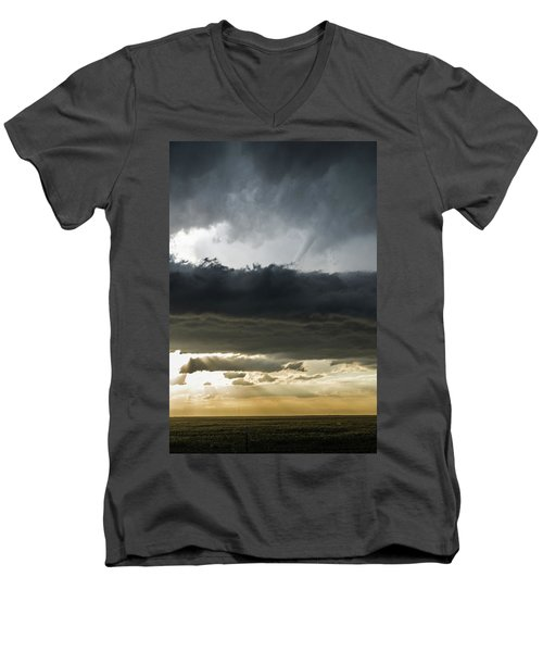 Above The Filament Men's V-Neck T-Shirt