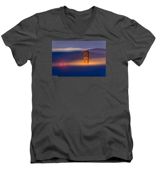 Above The Fog Men's V-Neck T-Shirt