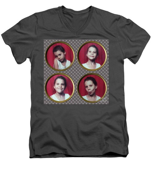 Abra Men's V-Neck T-Shirt