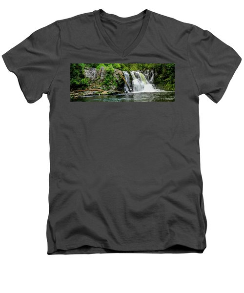 Abram Falls Men's V-Neck T-Shirt