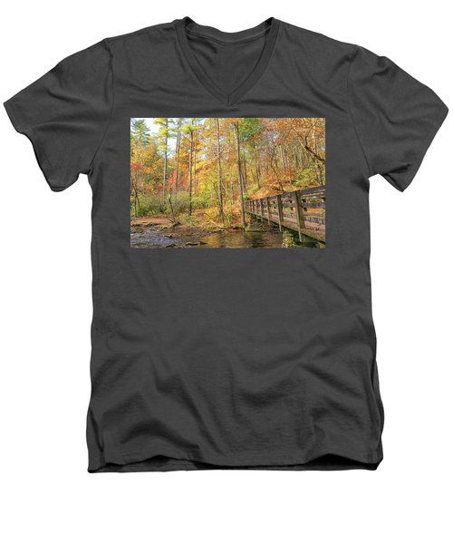 Abrams Falls Trailhead Men's V-Neck T-Shirt