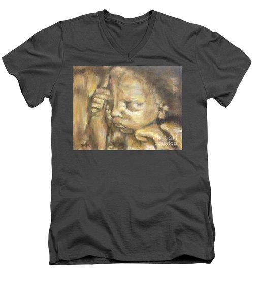 Abren 3d Men's V-Neck T-Shirt