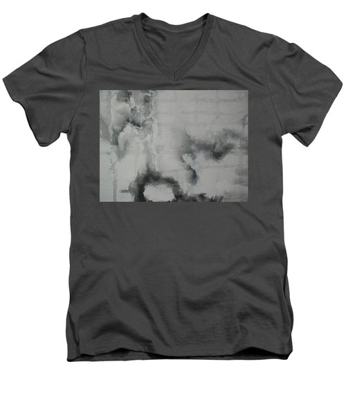 Abstract #03 Men's V-Neck T-Shirt by Raymond Doward
