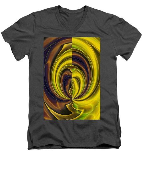 Abstract 121510 Men's V-Neck T-Shirt