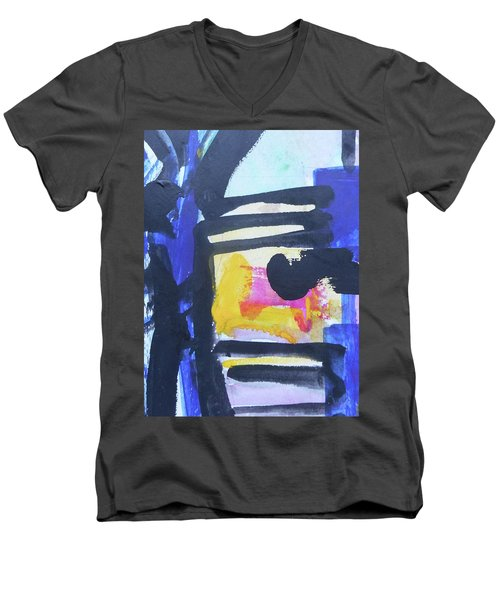 Abstract-16 Men's V-Neck T-Shirt