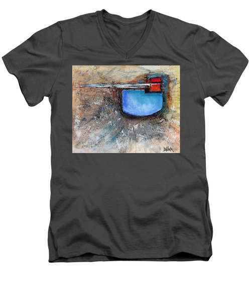 Abstract 200112 Men's V-Neck T-Shirt