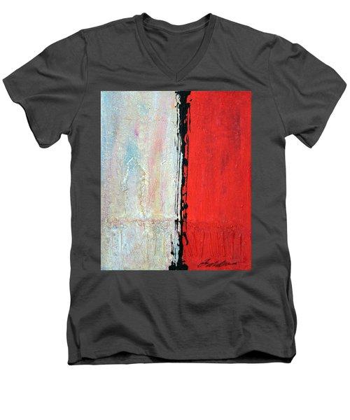 Abstract 200803 Men's V-Neck T-Shirt