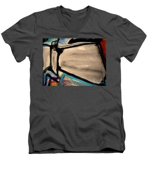 Abstract-22 Men's V-Neck T-Shirt